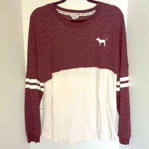 Victoria Secret Pink Jersey Sweater